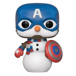FUNKO POP MARVEL HOLIDAY 2019 - CAPITAN AMERICA