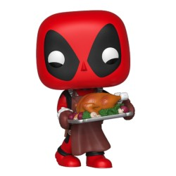 FUNKO POP MARVEL HOLIDAY 2019 - DEADPOOL CON PAVO