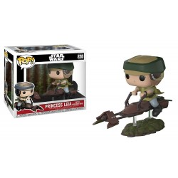 FUNKO POP STAR WARS LUKE SKYWALKER ON SPEEDER BIKE