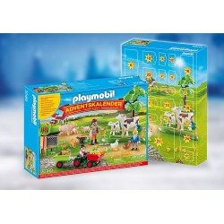 PLAYMOBIL CALENDARIO ADVIENTO 70189 GRANJA CON ANIMALES