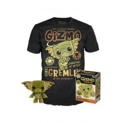 FUNKO POP & TEE SET FIGURA Y CAMISETA GRMLINS , GIZMO EXCLUSIVE