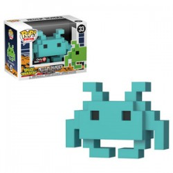 FUNKO POP SPACE INVADERS - MEDIUM INVADER TEAL