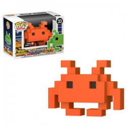 FUNKO POP SPACE INVADERS - MEDIUM INVADER ORANGE