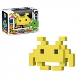FUNKO POP SPACE INVADERS - MEDIUM INVADER YELLOW