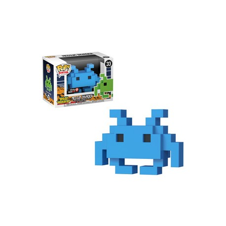 FUNKO POP SPACE INVADERS - MEDIUM INVADER BLUE