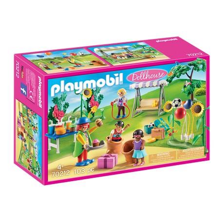 PLAYMOBIL 70212 - FIESTA EN EL JARDIN CON PAYASO
