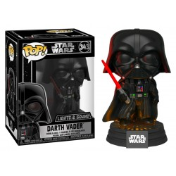 POP STAR WARS DARTH VADER CON LUZ Y SONIDO