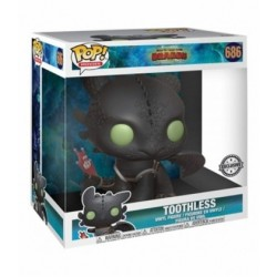 FUNKO POP TOOTHLESS COMO ENTRENAR A TU DRAGON 25 CM