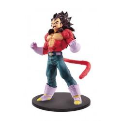 Dragon Ball GT Estatua PVC Blood of Saiyans Super Saiyan 4 Vegeta Metallic Hair Color 20 cm