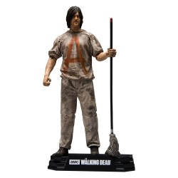 The Walking Dead TV Version Figura Savior Prisoner Daryl 18 cm