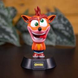 Crash Bandicoot lámpara 3D Icon Crash Bandicoot 10 CM