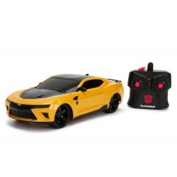 Transformers El último caballero Vehículo Radiocontrol 1/16 2016 Chevy Camaro Bumblebee --- DAMAGED PACKAGING