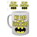 DC Comics Taza Batman Dad Superhero