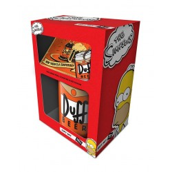 Los Simpson Pack de Regalo Duff