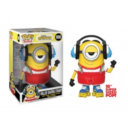 POP MINIONS THE RISE OF GRU - ROLLER SKATING STUART 10 PULGADAS SUPERSIZED