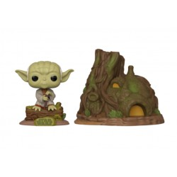 FUNKO POP STAR WARS - YODA CON CASA