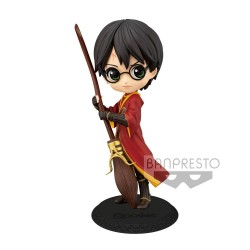 BANPRESTO Harry Potter Minifigura Q Posket Harry Potter Quidditch Style Version A 14 cm