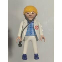 PLAYMOBIL FIGURA DOCTORA , MEDICA