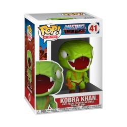 FUNKO POP MASTERS OF UNIVERSE 2021 - KOBRA KHAN