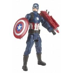 HASBRO Avengers Endgame Titan Hero Series Figura CaptainAmerica 30 cm