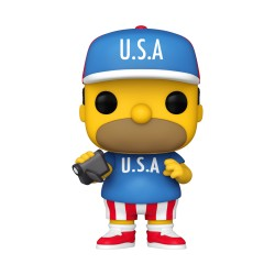 FUNKO POP THE SIMPSONS 2021 - HOMMER TRAJE USA