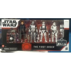 HASBRO Star Wars Celebrate the Saga Pack de 5 Figuras The First Order 10 cm