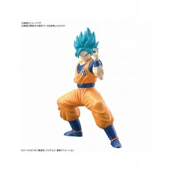 Maqueta Dragon Ball Entry Grade MK58859: Super Saiyan God Super Saiyan Son Goku 15 cm