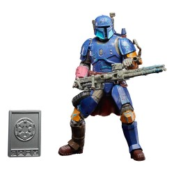 HASBRO Star Wars The Mandalorian Credit Collection Figura 2020 Heavy Infantry Mandalorian 15 cm