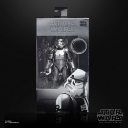 HASBRO Star Wars The Black Series Carbonized Collection Stormtrooper Toy Figure 15cm