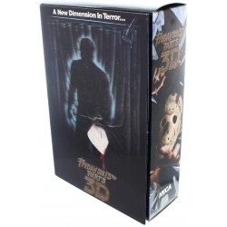 NECA Friday the 13th Part 3 Jason Voorhees Ultimate Deluxe Action Figure 18cm