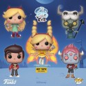 FUNKO POP DISNEY , STAR VS FOE STAR